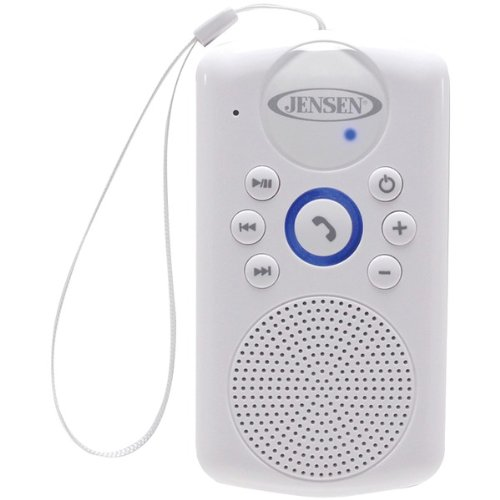 Jensen Smps-640 Water-Resistant Shower Bluetooth Hands-Free Speaker