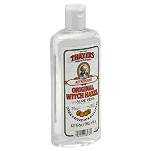 Thayers Witch Hazel with Aloe Vera Astringent, Herbal 11.5 oz (a)