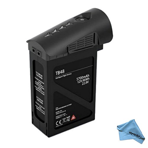 DJI TB48 Intelligent Flight Battery (5700mAh, Black) for the DJI Inspire 1 Pro Black Edition