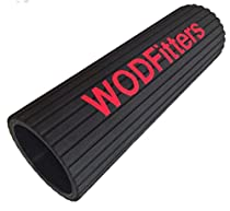 WODFitters M80 Foam Roller Set on Industrial Pipe with Patented Grooves Cuts Recovery Time in Half Even After the Toughest WODs * Made in the USA * Lifetime Warranty and Free Rolling eGuide