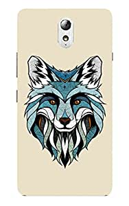 Back Cover for Lenovo Vibe P1 Abstract Fox