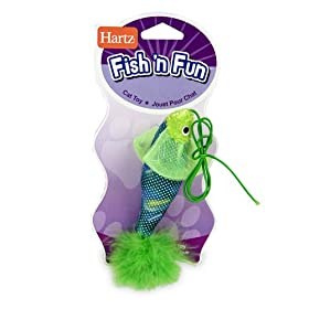 Hartz Fish'N Fun Cat Toy (Colors Vary)