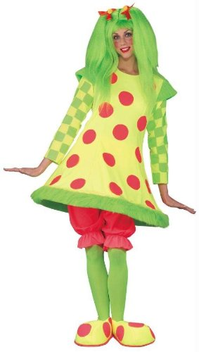 Costumes For All Occasions Fw112554 Lolli The Clown Costume Adult