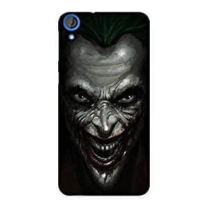 Enticing Mad face Multicolor Back Case Cover for HTC Desire 820s