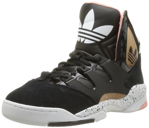 Adidas Originals Womens Adidas GLC W Trainers D65219 Black/Black/Rose Gold Metal 5 UK, 38 EU
