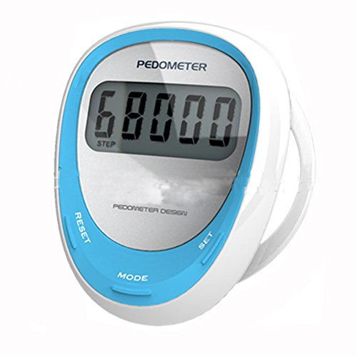 baimil aoce 32 pedometer step calorie distance counter wearing on the shoe blue health beauty. Black Bedroom Furniture Sets. Home Design Ideas
