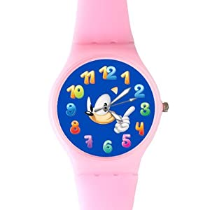Watchize Sonic the Hedgehog 2 Watch Custom Time Keeper Wrist Watch Pink