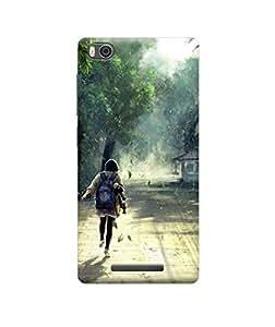 Ebby Premium Back Cover For Xiaomi Mi 4i(Designer Case)