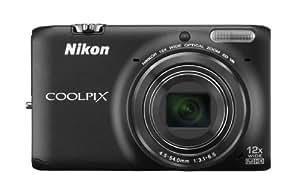 Nikon COOLPIX S6500 Wi-Fi Digital Camera with 12x Zoom (Black) (OLD MODEL)