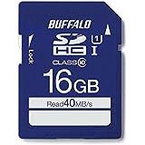 BUFFALO UHS-I Class10 SDカード 16GB RSDC-016GU1S/N [フラストレーションフリーパッケージ(FFP)]