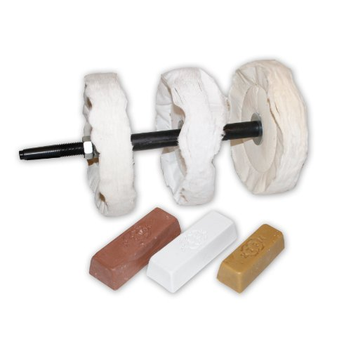 PSI Woodworking Products LBUFFSYS 3-Step Buffing System