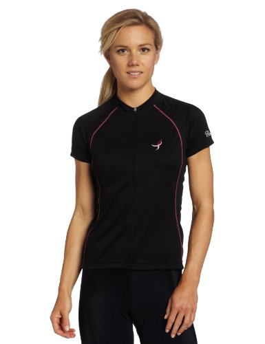 Buy Low Price Canari Women's Foundation Short Sleeve Cycling Jersey (22175-W Foundation Jersey)