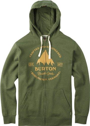 Grstmll Hooded Zip Sweat, Verde (Rifle Green Heather), M