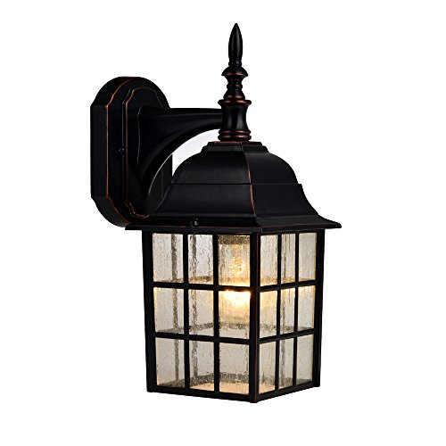 Hardware House 188357 Downward-Facing 14-by-6-Inch Aluminum Outdoor Light Fixture, Oil Rubbed Bronze (House Hardware compare prices)