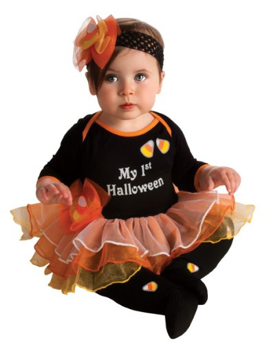 Rubie's Costume My First Halloween Tutu And Onesie, Black, 6-12 Months