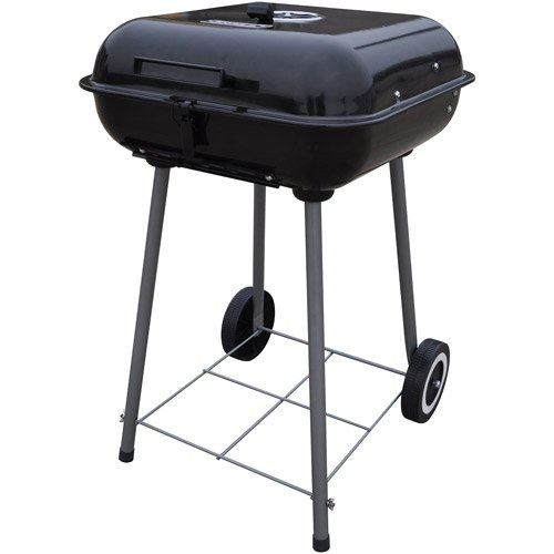 1-X-Charcoal-Grill-Backyard-Grill-175-Grills-up-to-15-Burgers-Porcelain-enamel-cooking-grid-With-2-plastic-wheels-for-easy-transport-Dimensions-1831L-x-522W-x-185H