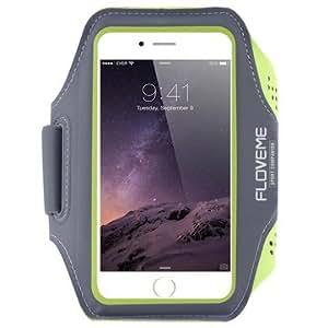 FLOVEME Universal Waterproof Running Sport Armband Case For phone Under 5.5 inch-Green