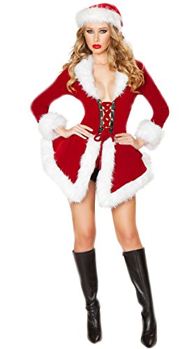 Christmas Costume Mrs Santa Claus Dress Cosplay Suits