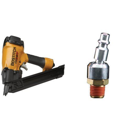 Buy Cheap BOSTITCH MCN-150 StrapShot Metal Connector Nailer with BTFP72333 Industrial Series Swivel ...