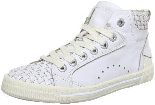 Yellow Cab Jazz Trainers Girls White Weià (White) Size: 33