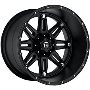 Fuel Hostage Matte Black Wheel (20x12