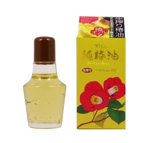 黒ばら純椿油 容量72ml