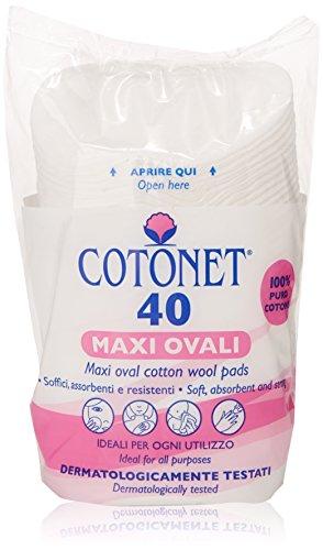 Cotonet - Dischetti Maxi Ovali - 40 Pezzi