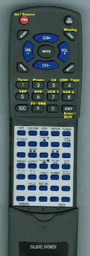 Denon Replacement Remote Control For Avr87, Rc883, Avr87Bkeu, Avr1800, Avr3802, Avr1082