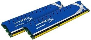 Kingston HyperX 2GB Kit (2x1GB Modules) 1066MHz DDR2 Desktop Memory (KHX8500D2K2/2G)