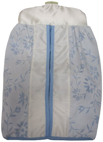 Baby Doll Bedding Ruth Diaper Stacker, Blue