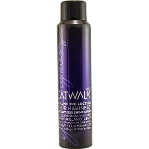 Catwalk Your Highness Weightless Shine Spray Unisex by TIGI, 5.15 Ounce