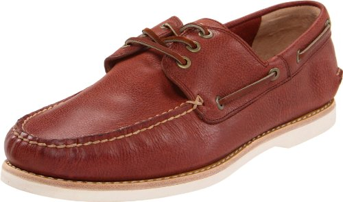 Frye Men's Sully Boat Boat Shoes Red Rouge (Rdd) 8 (42 EU)