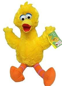 Sesame Street Big Bird - Peluche (33cm), diseño de Paco Pico Barrio Sésamo
