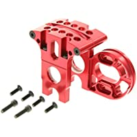 GPM Racing Alloy Adjustable Motor Mount System For 1:10 Axial EXO, Red