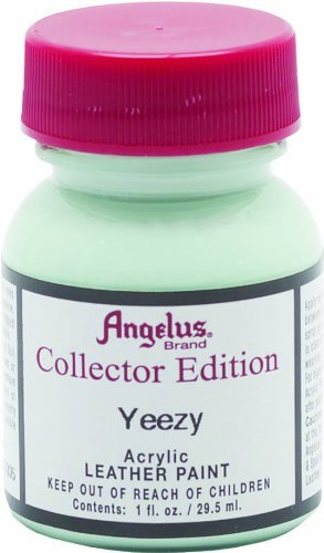 Angelus Collector's Edition Acrylic Leather Paint - 1 Ounce, Yeezy (Color: Blue, Green, Mint, Sea, Tamaño: 1 Ounce)