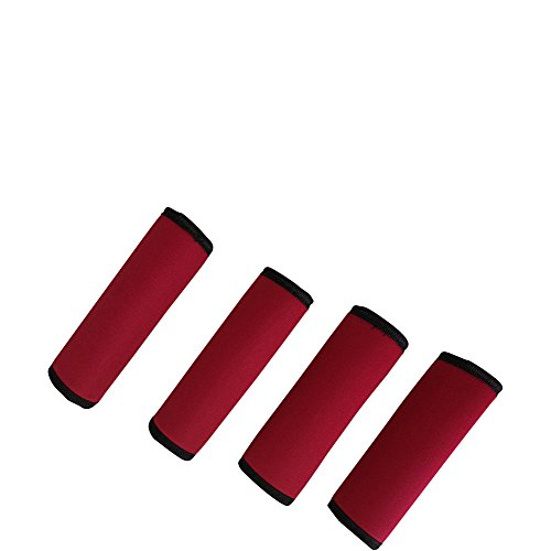 luggage-spotters-super-grabber-neoprene-handle-wrap-set-of-4-red