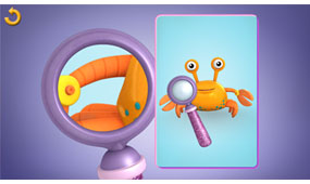 Use observation and reasoning skills, as well as a range of fun doctor's tools, to examine each toy's symptoms.