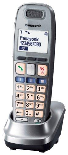 Panasonic KX TGA659EXM - Cordless extension handset w/ caller ID - DECT GAP - graphite Black Friday & Cyber Monday 2014