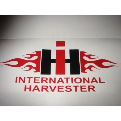 Flaming international harvester ih vinyl for International harvester wall decor