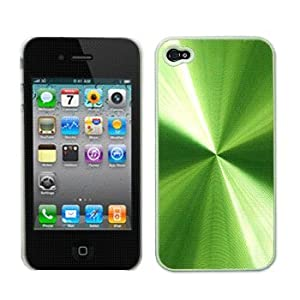 Green Aluminum Hard Case / Cover / Shell for Apple iPhone 4 / 4G