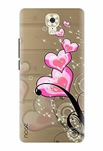 Noise Designer Printed Case / Cover for Gionee M6 Plus / Bling / Art Of Love Design
