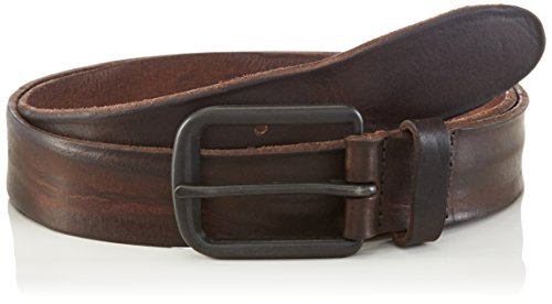 JACK & JONES Jacbrice Leather Belt Noos, Cintura Uomo, Marrone (Caffè Espresso), 105 cm
