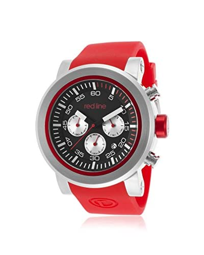 red line Men's 50050-01-RDS Torque Sport Red Silicone Watch
