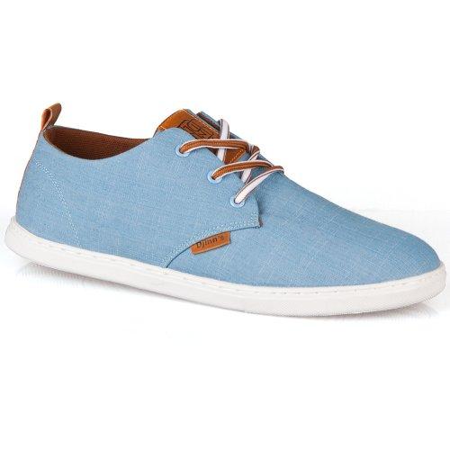 Djinns Schuhe LOW LAU LINEN blue