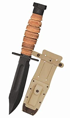 Ontario 499 Air Force Survival Knife, Black from Rothco