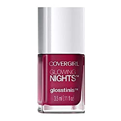 Covergirl Glossy Days Glosstinis Nail Gloss, 730 Glow Stick