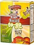 Barlean's Organic Oils - Omega Kids Swirl To-Go Mango Peach 30pkt