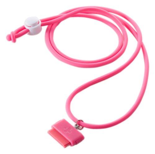 Simplism iPhone 用 ネック ストラップ Dockコネクター ワンタッチ接続 DockStrap Neo ピンク TR-DSIN-PK