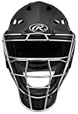 Rawlings MCH2 Youth Rubberized Matte Hockey Style Coolflo Catchers Helmet