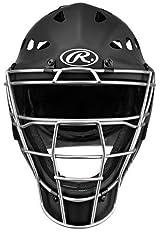 Rawlings MCH2 Youth Rubberized Matte Hockey Style Coolflo Catchers Helmet